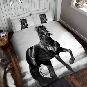 3D Animal Horse Premium Duvet Cover Bedding Set