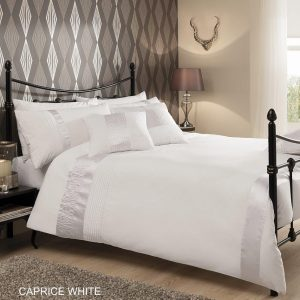 Luxury CAPRICE Signature Duvet Cover Bedding Set – Single, Double, King, Super King