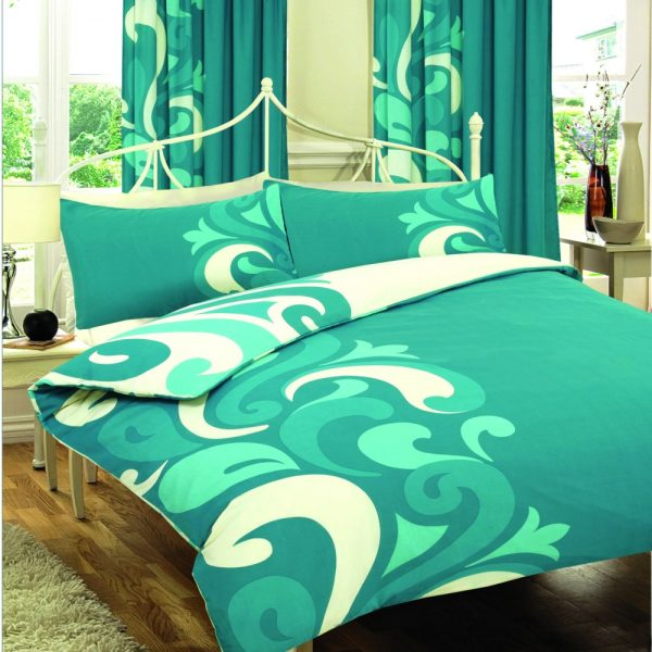 Printed Floral Grandeur Duvet Cover Bedding Set – Single, Double, King, Super King, Pillow Case