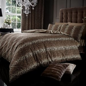 Leopard Printed Modern Duvet Cover Bedding Set