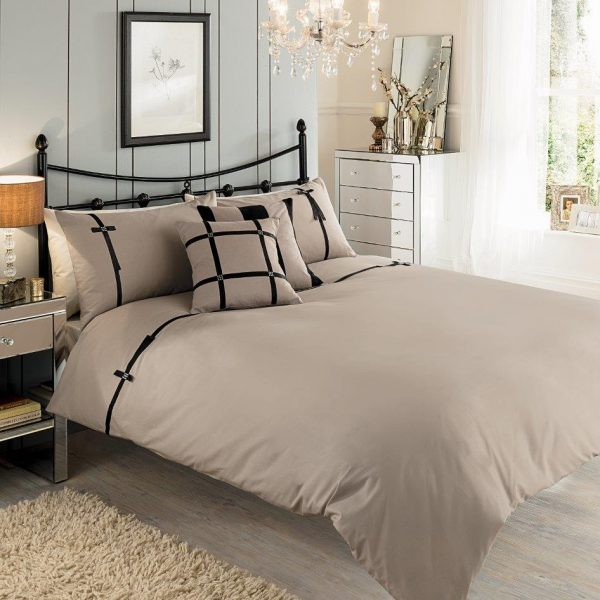 Luxary Signature Levise Duvet Cover Bedding Set – Single, Double, King, Super King