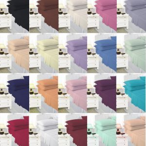 Non Iron Percale Pair Pillow Case – Size: 50×75 Cm