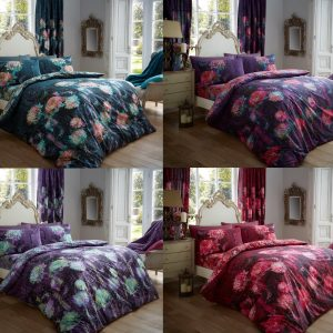 Prism Floral Printed Duvet Cover Bedding Set – Single, Double, King, Super King, Pillow Case