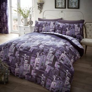 Rural Italy Printed Duvet Cover Bedding Set – Single, Double, King, Super King, Pillow Case