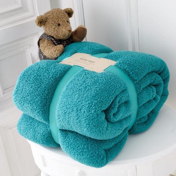 Teddy Collection Faux Fur Throw – Single, Double and King size