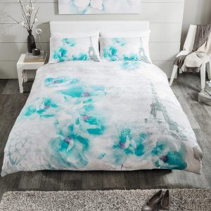 Tinted Floral Dream Premium Duvet Cover Bedding Set – Single, Double, King, Super King