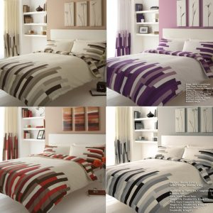 Blocks Printed Duvet Cover Set- Single, Double, King, Super King, Pillow Case