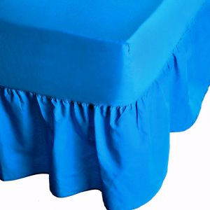 PERCALE Valance Bed Sheet