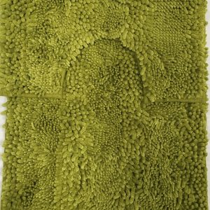 Chunky Loop Plain Bath Mat and Pedestal set