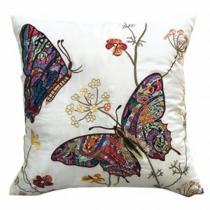 Butterfly Dreams Cushion Covers Size 18×18 inch 45cm x 45cm (Pack of 4)
