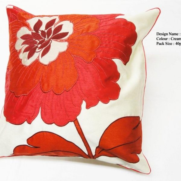 Chelse Floral Cushion Covers Size 18×18 inch 45cm x 45cm (Pack of 4)