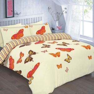 Elsa Butterfly Printed Duvet Cover Set – Single, Double, King, Super King, Pillow Case