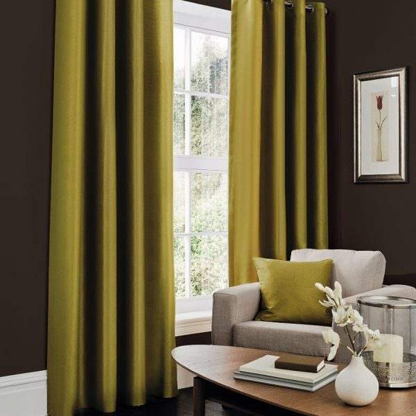 Faux Silk Fern Curtain