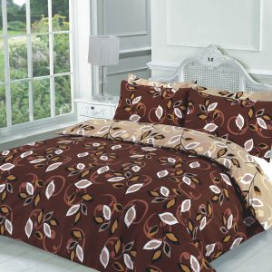 Floral Ploycotton Grace Printed Duvet Cover Set