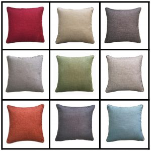 Julian Plain Cushion Covers Size 18×18 inch 45cm x 45cm (Pack of 4)