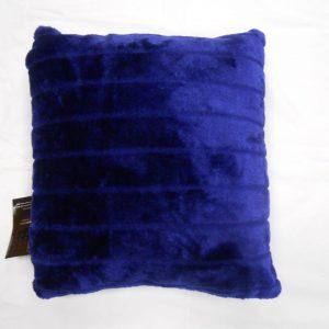 Faux Fur Plain Cushion Covers Size 17×17 inch 43cm x 43cm (Pack of 4)