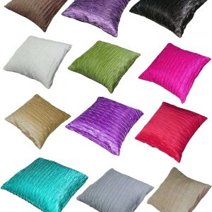 Viva Shiny Cushion Covers Size 18×18 inch 45cm x 45cm (Pack of 4)