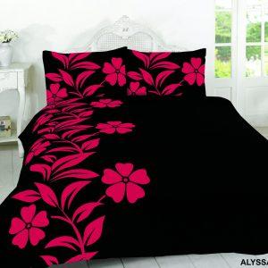 ALYSSA, BLACK/RED