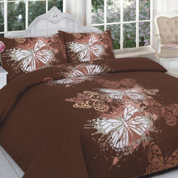 Animal Butterfly Printed Duvet Cover Set