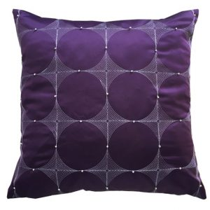 Cushion Covers Eva Circles Size 18×18 inch  45cm x 45cm (Pack of 4)