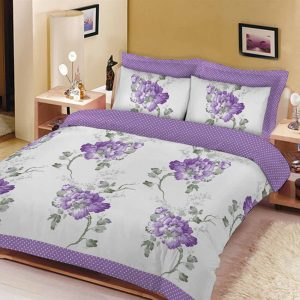 Floral Sketch Printed Duvet Set – Single, Double, King, Super King, Pillow Case