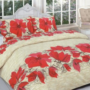 Lucy Floral Printed Duvet Set – Single, Double, King, Super King