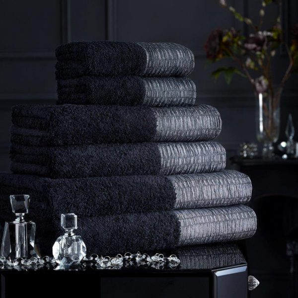 Cotton Bath Towel with Lurx Silk Border – Pack of 2