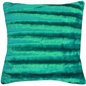 Shiny Stripe Polyester Cushion Covers Size 17×17 inch 43cm x 43cm (Pack of 4)