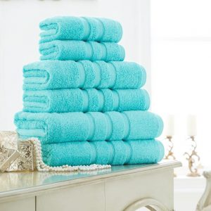 Supreme Quality 100% Cotton 600 GSM Zero Twist Bath Towel – Pack of 2