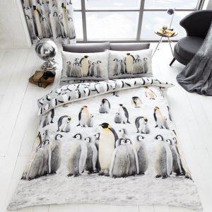 3D Penguin Duvet
