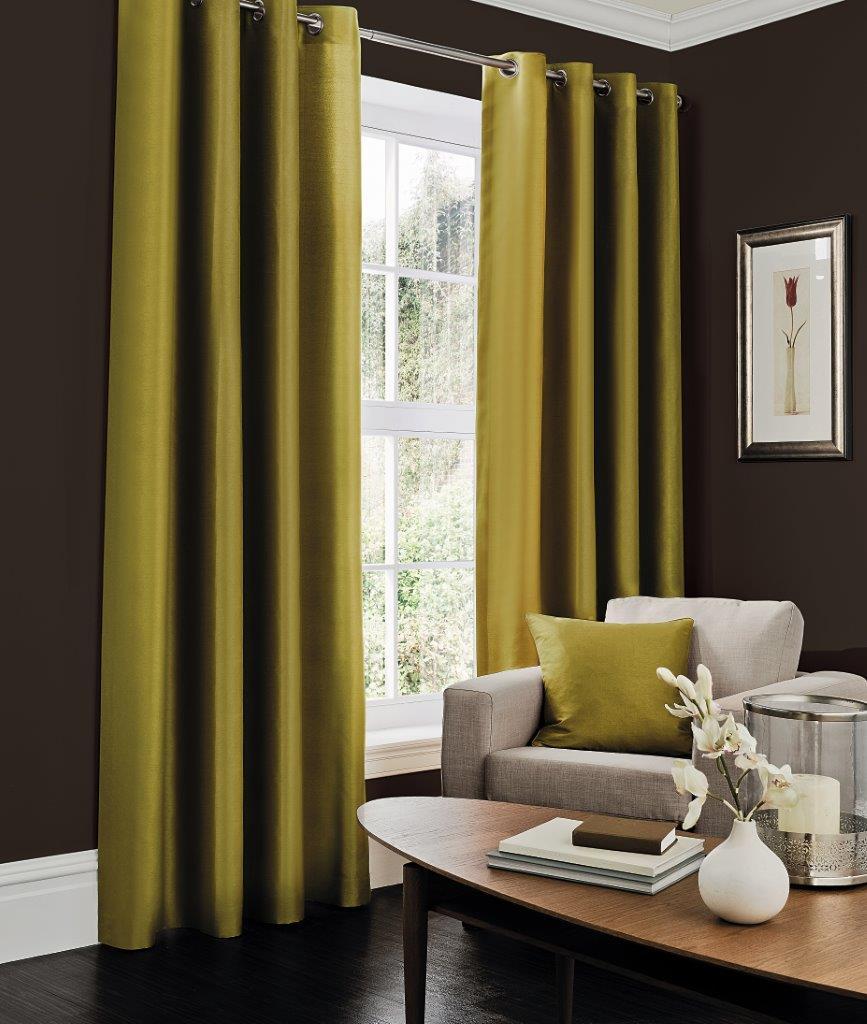 Faux Silk Fern Curtain