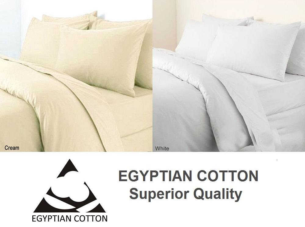 Egyptian Cotton 800 Thread Count Duvet Cover Set