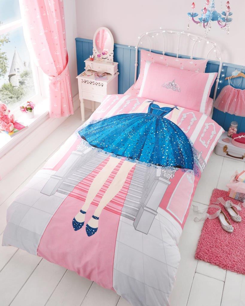 UNICORN Children Teenage Kids Girls selfie Duvet Pillow Cover fitted sheet set