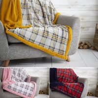 Throw and Blanket